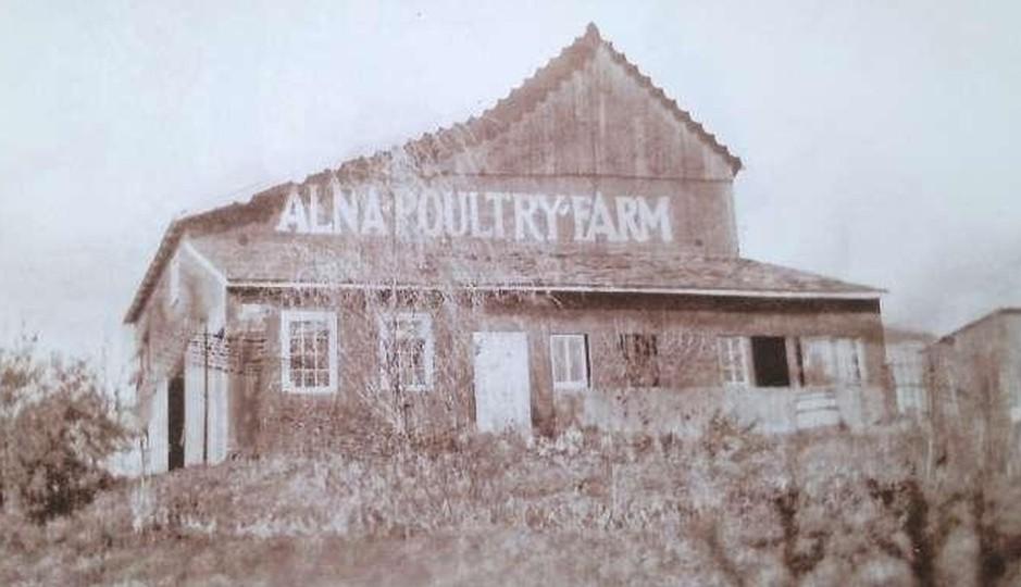 Alna Poultry Farm, New Hope, PA circa 1935