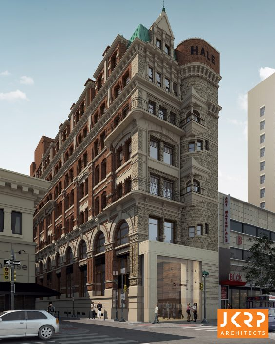 Hale Yeah Renderings Show Hale Building In All Of Its