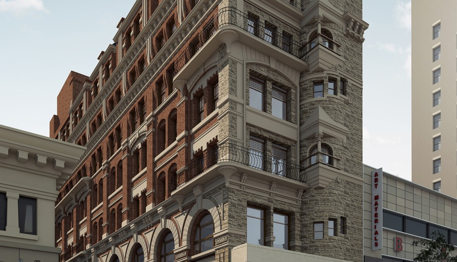 The Hale Building | Renderings via JKRP Architects