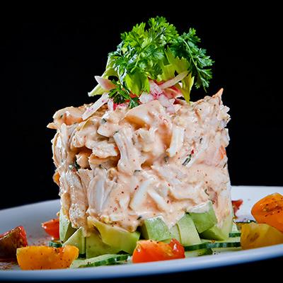 Jumbo lump crab and shrimp Louie | Photo by Nick Valinote