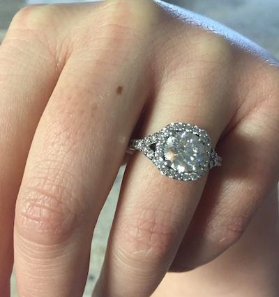 Erika's ring!