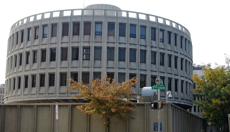 "Philadelphia Police Headquarters, aka ""The Roundhouse."" 