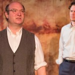 David Volin and Daniel Fredrick in Art at the Walnut Street Theatre. (Photo by Mark Garvin)