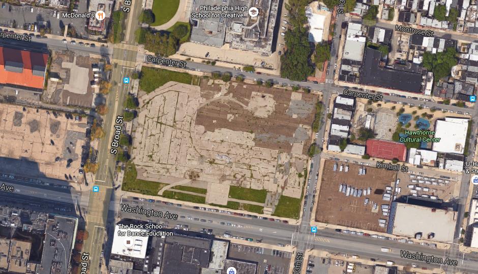 Broad and Washington | Google Maps