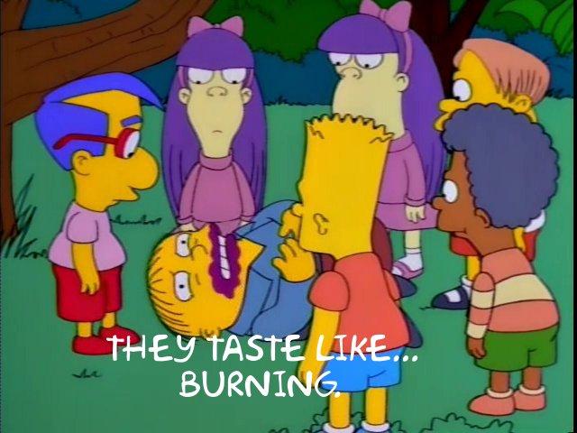 SimpsonsBurning