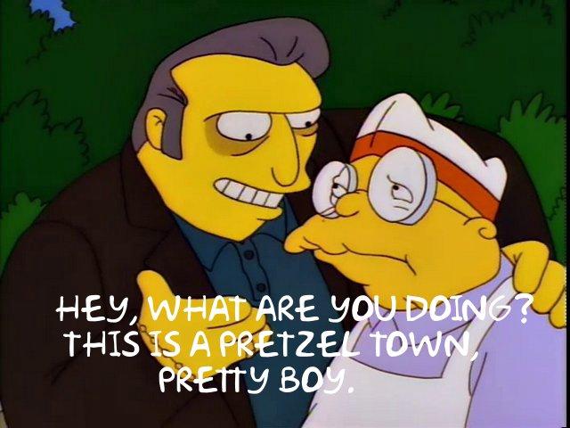 SimpsonsPretzel