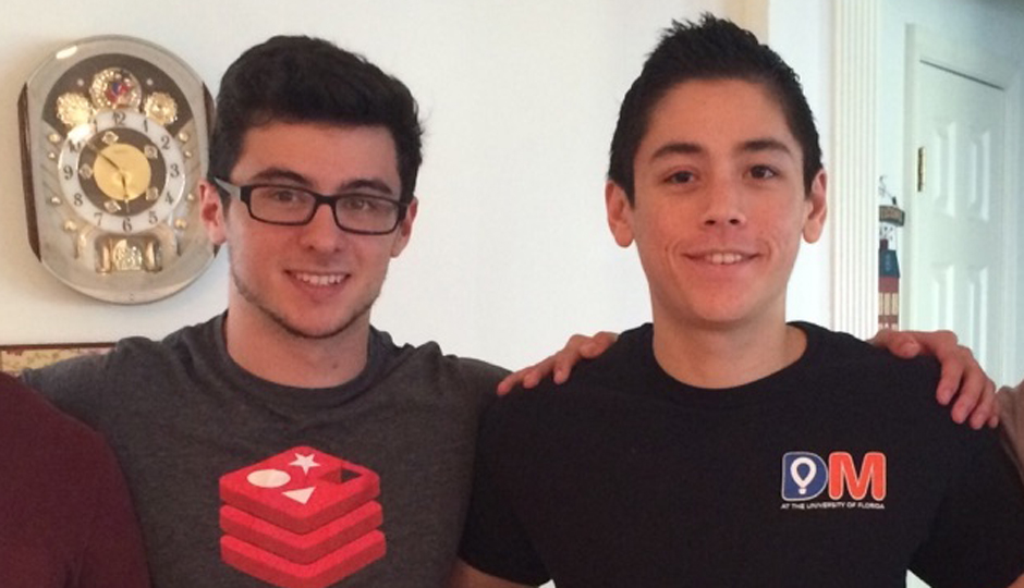Brian Dragotto (left) and Nick Yap.