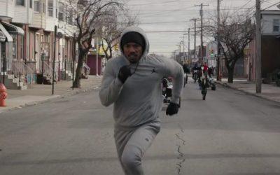 Creed - Adonis Creed running