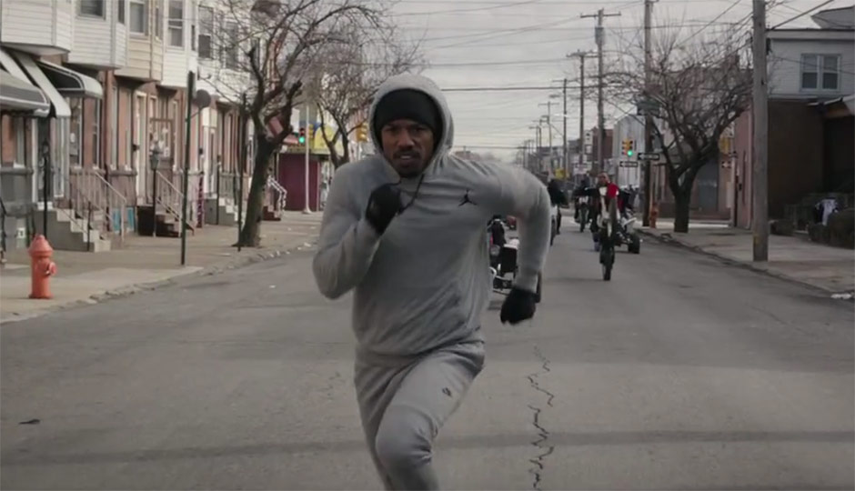 Creed - Adonis creed running