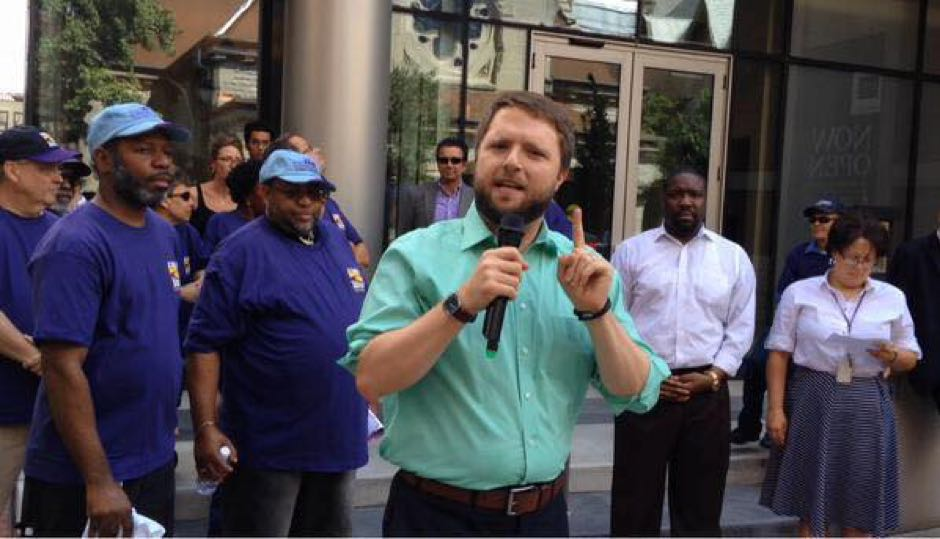 Ben Waxman, a former state Senate aide, received the endorsement of the 5th Ward.