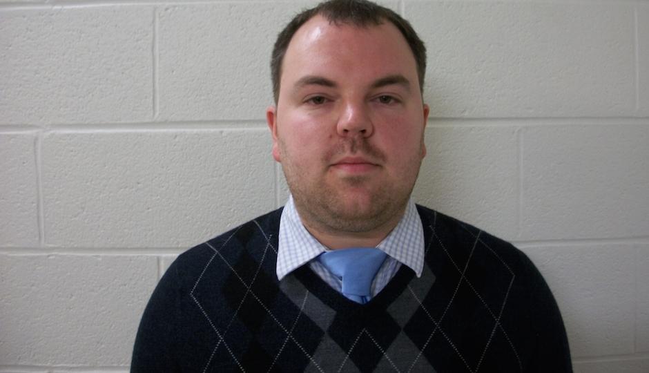 High school chemistry teacher Brandon Mitchell in a photo released by prosecutors.