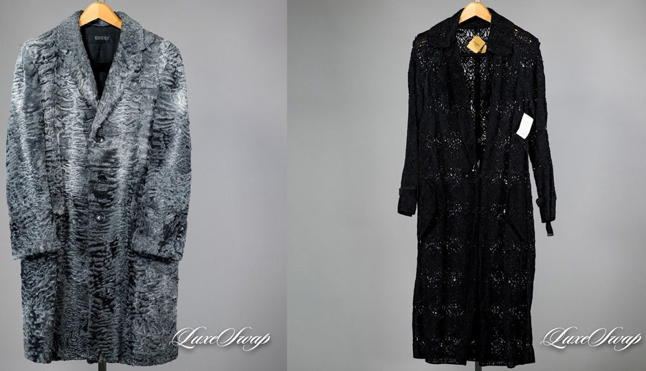 Buzz Bissinger's coats for sale