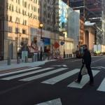 Crosswalk - Arch Street - Comcast - Wawa