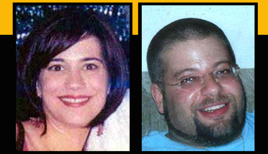 Missing persons Danielle Imbo and Richard Petrone in photos provided by the FBI.