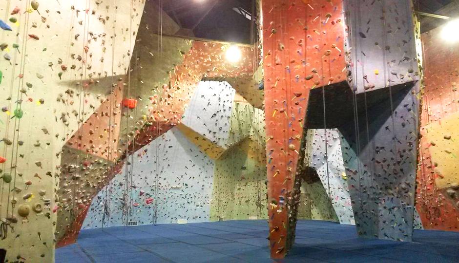 Go Vertical rock climbing gym | Photo via Facebook