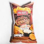 herrs crabfries potato chips 400