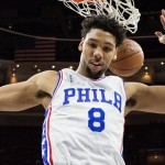 Sixers head coach Brett Brown has experimented with asking Jahlil Okafor to defend the power forward position | Bill Streicher-USA TODAY Sports