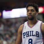 Jahlil Okafor scored a career-high 31 points in the Sixers' 129-103 loss to the Mavericks | Jerome Miron-USA TODAY Sports