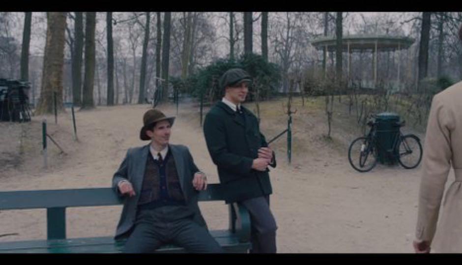 Jake Graf (right) in a scene from The Danish Girl.