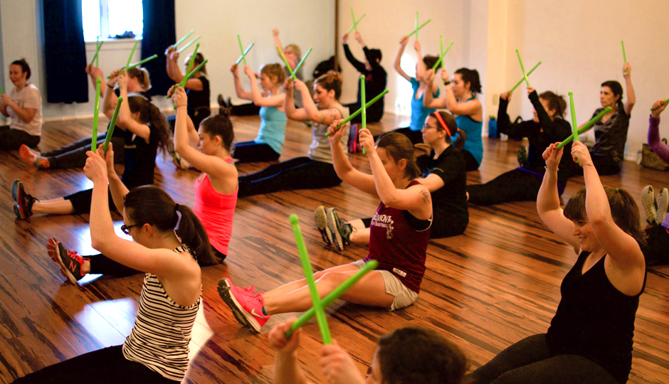 Pound Fitness at Philly Dance Fitness | Photo by Lani Assaf