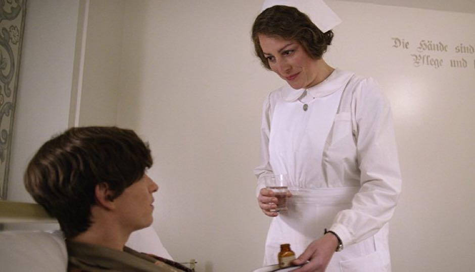 Rebecca Root in a scene from The Danish Girl.