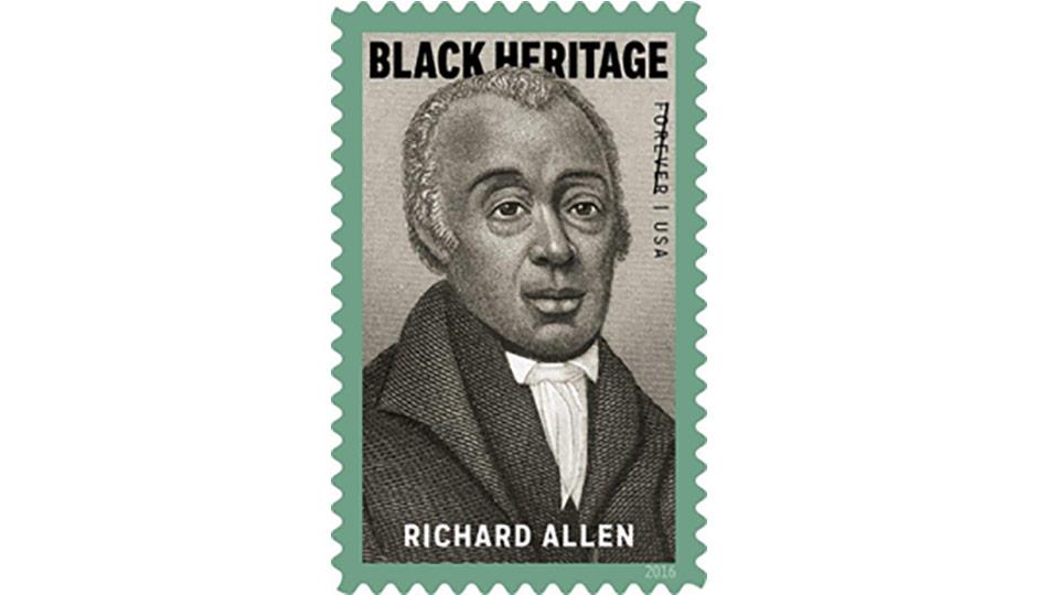 Richard Allen - United States Postal Service USPS Stamp