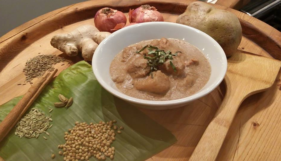 Ayam Kurma at Sate Kampar on Passyunk Avenue