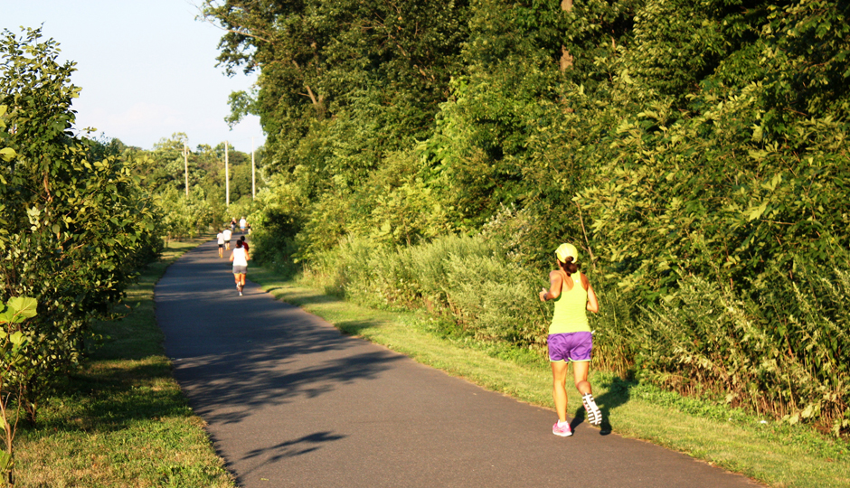The Schuylkill River Trail in Montgomery County, part of the Circuit trail network. | Photo by Flickr user Montgomery County Planning Association