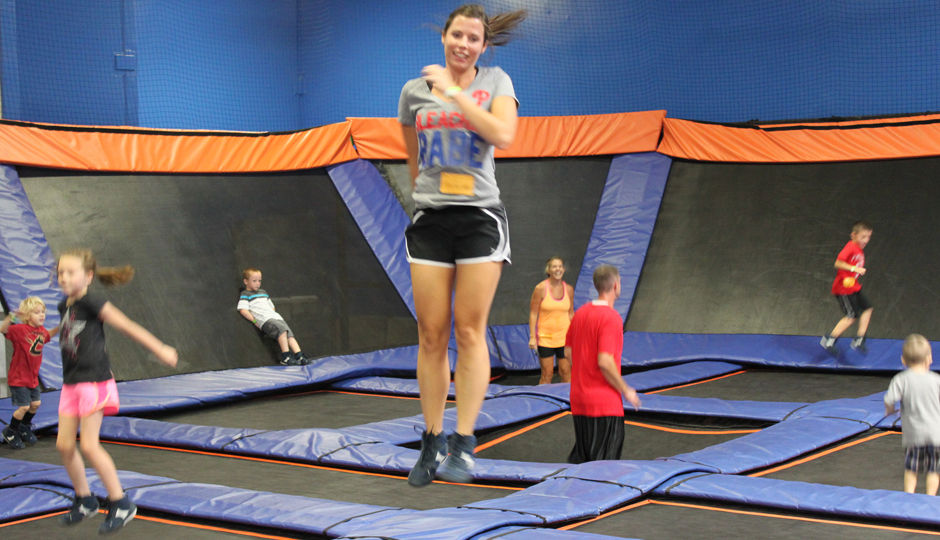 Sky Zone | Photo via Flick user Clintus