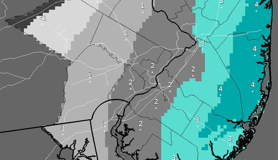 Snow - forecast - feb 4th to 5th
