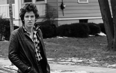 Bruce Springsteen - Born to Run - book cover