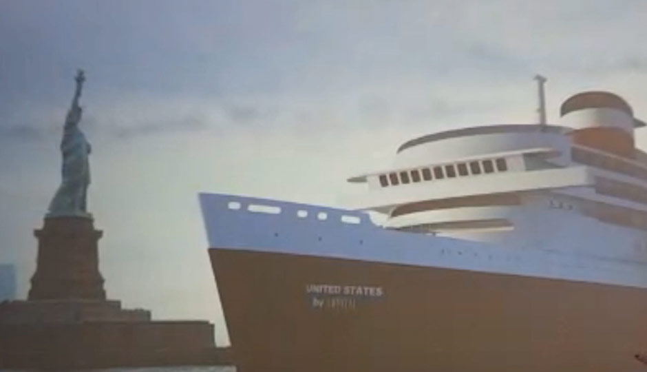 SS United States - rendering