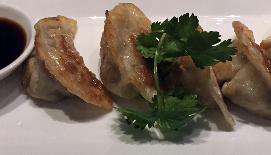 Pork Potstickers at SuGa
