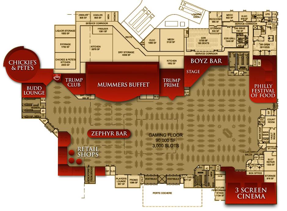 TrumpStreet layout