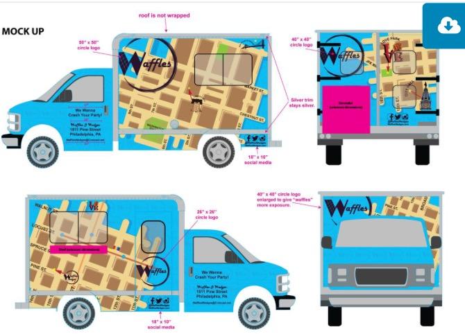 waffles food truck