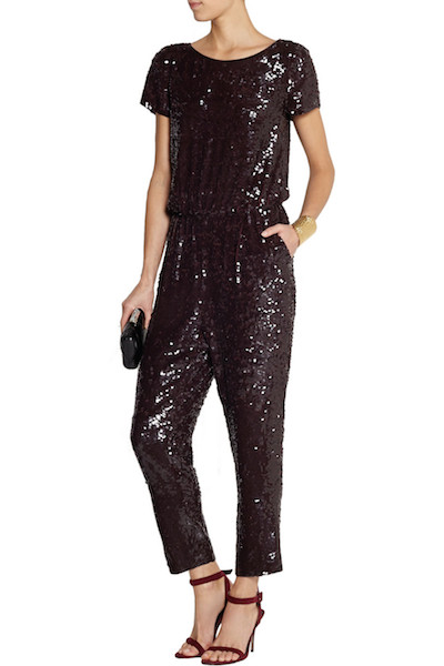 J.Crew Collection sequined jumpsuit via The Outnet.