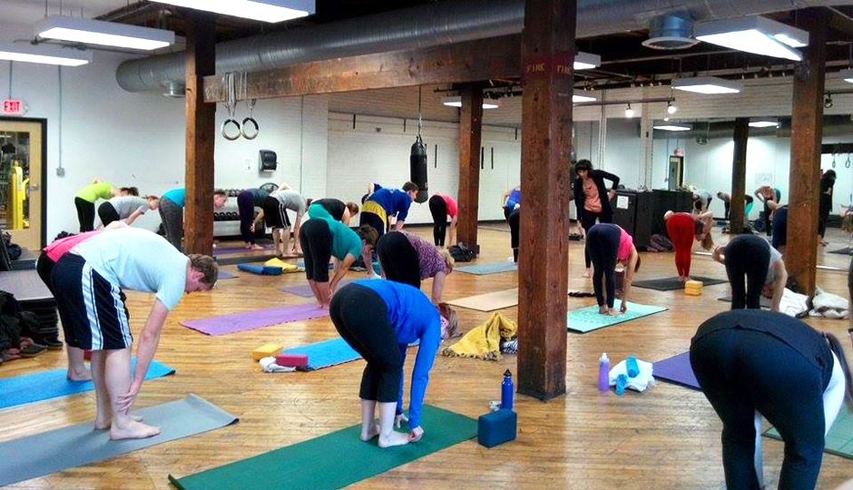 Yoga at SWEAT Fitness