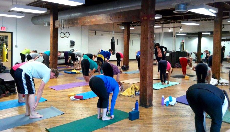 Yoga at SWEAT Fitness
