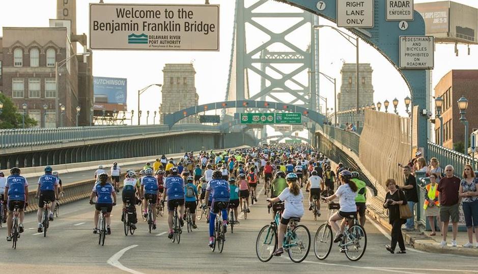 Philadelphia Bike-a-thon | Photo via Facebook