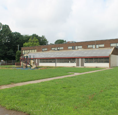 The Haverford Bright Futures Center site today.