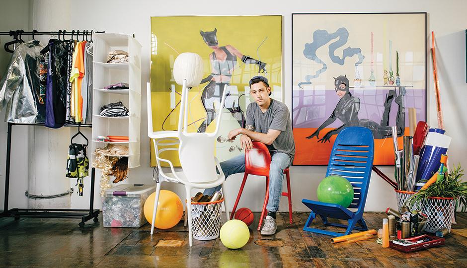 Da Corte in his Juniata studio | Photograph by Jauhien Sasnou