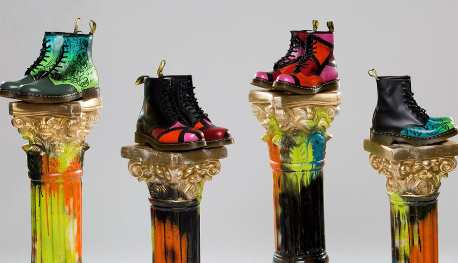 Dr. Martens Customized For Free Tomorrow