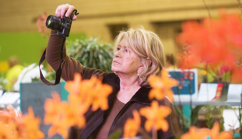 Martha Stewart Philadelphia Flower Show
