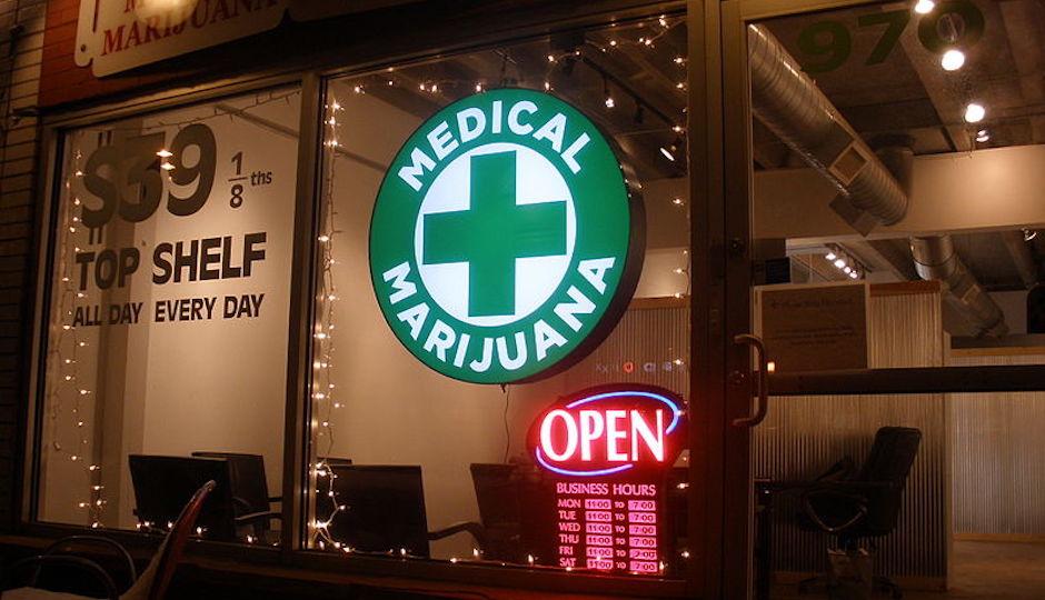 Discount Medical Marijuana cannabis shop in Denver, Colorado.   O'Dea, Wikimedia Commons