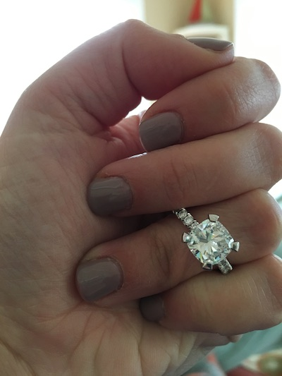 Lindsay's ring!