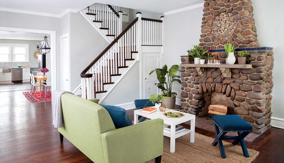 508 Gorgas Lane, East Mount Airy. Photograph by Courtney Apple; styling by Beka Rendell.