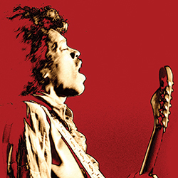 The tribute to Hendrix plays on March 19th.