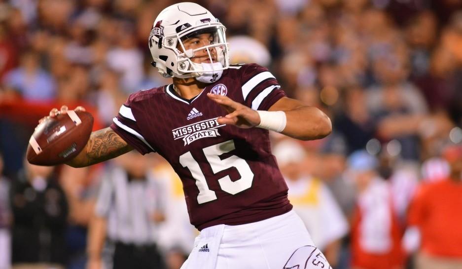 Mississippi State quarterback Dak Prescott. (USA Today Sports)