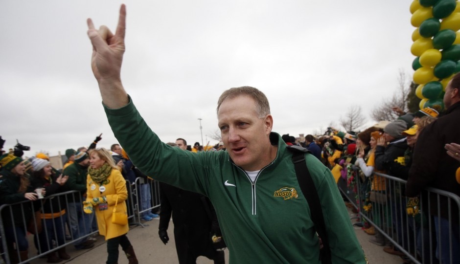 North Dakota State head coach Chris Klieman. (USA Today Sports)