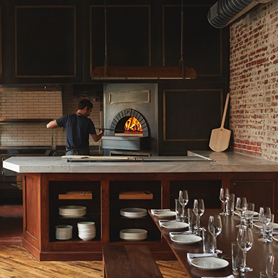 Wood-fired oven   Photo by Michael Persico